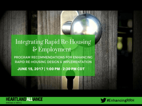 Integrating Rapid Re-Housing & Employment: Program Recommendations for Enhancing Rapid Re-Housing Design & Implementation