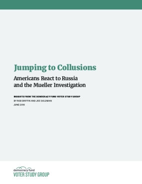 Jumping to Collusions: Americans React to Russia and the Mueller Investigation